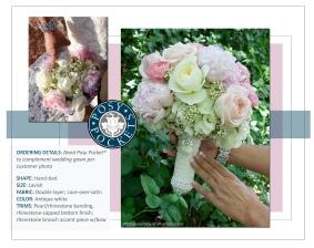 Custom Posy Pocket Bouquet Holder