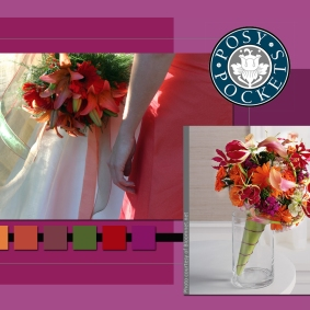 Cone-Shaped Bouquet Holders