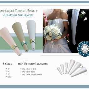 Posy Pockets with Simple, Elegant Trims