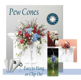 Pew Holders to Clip-on or Hang!