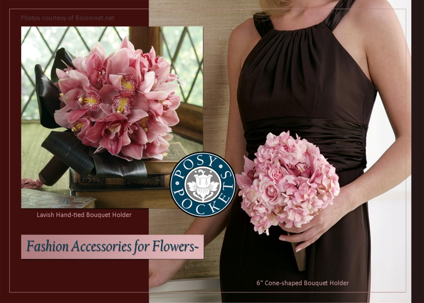 Bouquet Holders with a WaterSource!